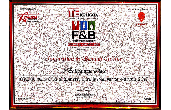 F&#038;B Entrepreneurship Summits awards <span>2017</span>