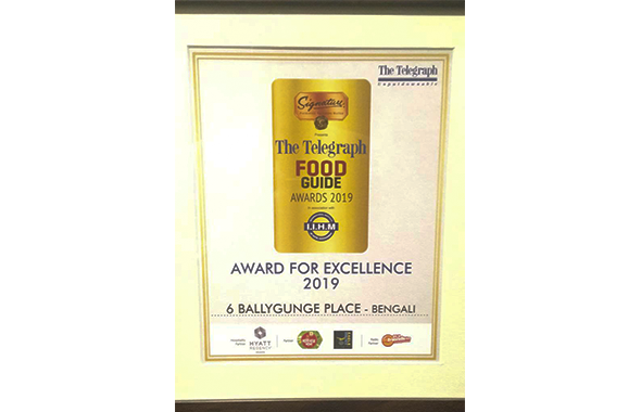 The Telegraph Food Guide Awards 2019