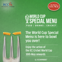 World Cup Special Menu @ The Bengal Lounge