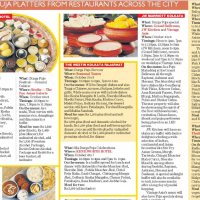 t2 tells devotees of traditional Bengali cuisine about Pujo's must-visits!