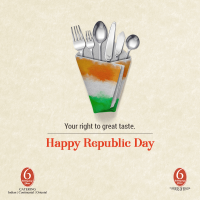 Republic Day Special Buffet at 6 Ballygunge Place