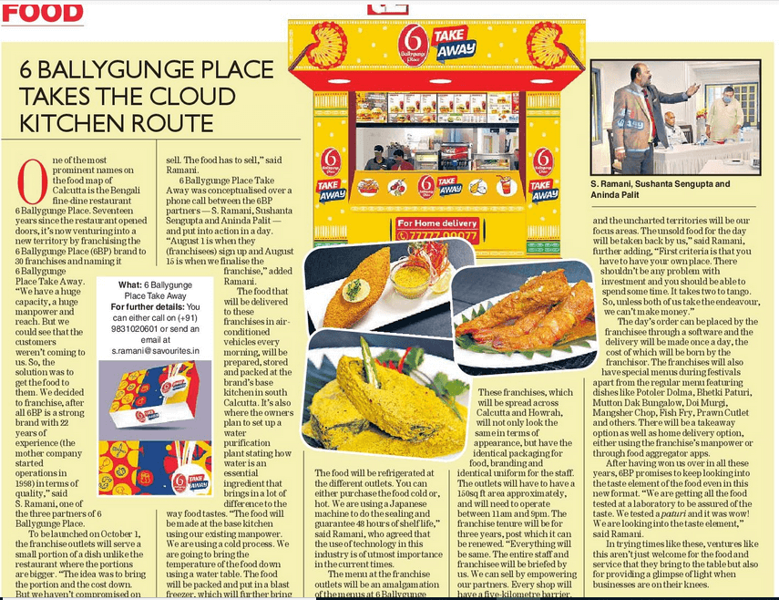Taking your favourite Bengali dishes a step closer to you
